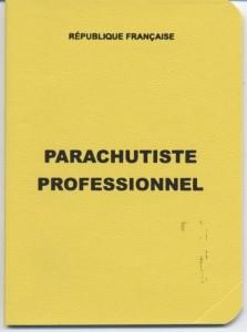 Licence de parachutiste professionnel