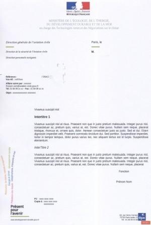 Autorisation spéciale valant qualification de classe ou de type (Special authorization being worth QC or QT rating)
